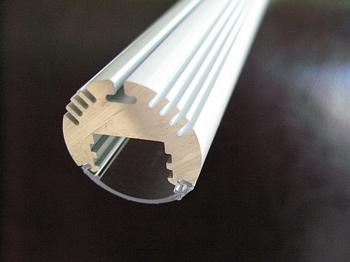 Aluminium profiel rond