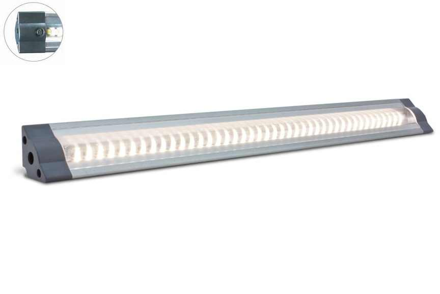 LED Strip | Plat | Type Corner LO | 100 Cm | Daglicht Wit | 11 Watt | 24 Volt | Switch